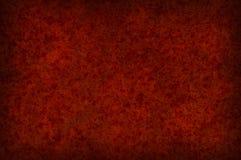 Textura mottled vermelha suja do fundo fotos de stock