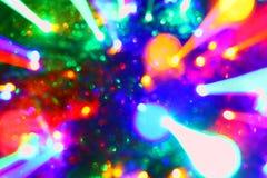 Textura movente das luzes do clube da barra - fundo abstrato bonito da foto ilustração stock