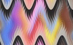 Textura multicolora abstracta única hermosa Fotografía de archivo