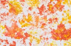Textura multicolora del fondo de la acuarela Imagenes de archivo
