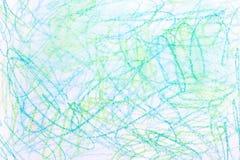 Textura multicolora del fondo del creyón de la acuarela Foto de archivo libre de regalías