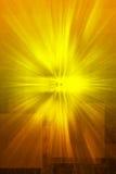 Textura Mystical do ouro da revelação Fotografia de Stock Royalty Free