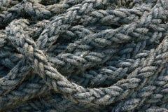 Textura náutica de la cuerda Imagen de archivo