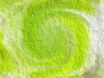 textura na parede verde Imagens de Stock Royalty Free