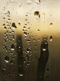 Textura natural da gota da água Foto de Stock Royalty Free
