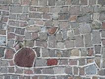 Textura natural da superfície da parede de pedras Fotos de Stock
