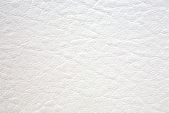 Textura natural del cuero blanco Fotografía de archivo libre de regalías