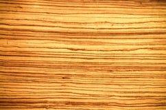 Textura natural del panel de madera marrón claro del Grunge Fotografía de archivo libre de regalías