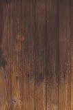 Textura natural y fondo de madera de la pared de Brown inconsútiles Imagenes de archivo