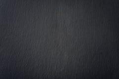 Textura negra de la pizarra Fotografía de archivo