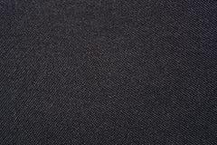 Textura negra de la tela Fotos de archivo