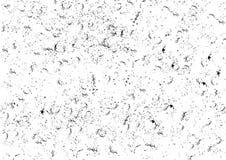 Textura negra del espray del chapoteo del grunge Fondo áspero del distressd negro Fotos de archivo