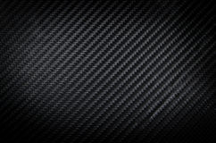 Textura negra del fondo de la fibra de carbono