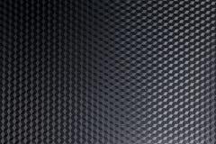 Textura negra del metal Foto de archivo libre de regalías