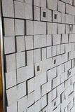 Textura única de la pared Fotografía de archivo libre de regalías