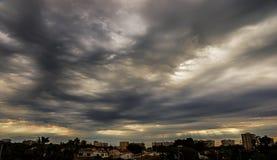 Textura nublada fotografía de archivo libre de regalías