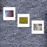 textura o fondo, color gris de la pared de ladrillo adorne brickwo Imagen de archivo