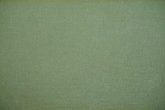 Textura o fondo verde de la lona Fotografía de archivo libre de regalías