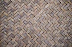 El tejer de bambú de la textura de Baslet Fotos de archivo libres de regalías