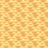 Textura o modelo inconsútil del vector de las ondas de la duna de arena del desierto stock de ilustración