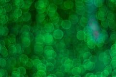 Textura obscura verde do bogeh fotos de stock