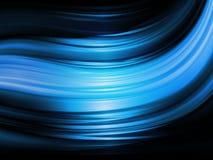 Ondas acero-azules brillantes Fotos de archivo
