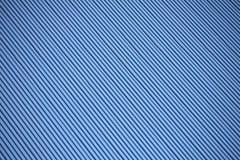 Textura ondulada azul do telhado do metal imagem de stock