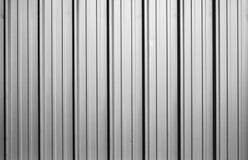 Textura ondulada da folha de metal imagens de stock