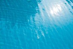 Textura ondulada de la piscina Imagen de archivo