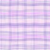 Textura ondulada de la tela escocesa Imagen de archivo