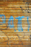 Textura ondulada do fundo do metal Imagens de Stock