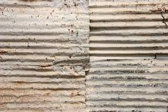 Textura ondulada do telhado imagem de stock