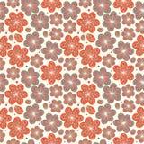 Textura ornamentado infinita do fundo agradável decorativo sem emenda decorativo floral das flores do teste padrão ilustração stock