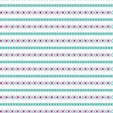 Textura ornamental mexicana del fondo horizontal azteca étnico tribal inconsútil del modelo en colores anaranjados rosados brilla Imagenes de archivo