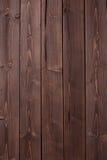 Textura oscura de madera de la castaña Fotografía de archivo libre de regalías