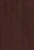 Textura oscura de madera del wenghe Fotografía de archivo