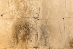 Textura ou fundo bronzeado dourado do grunge Imagens de Stock Royalty Free