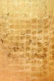 Textura ou fundo bronzeado dourado do grunge Imagem de Stock