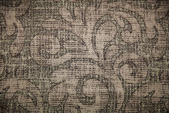 Textura ou fundo da lona de Brown Fotografia de Stock Royalty Free