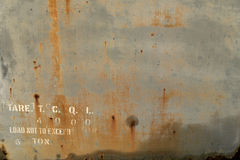 Textura oxidada Imagens de Stock