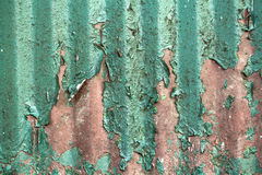 Textura oxidada com pintura do grunge Fotos de Stock Royalty Free