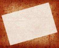 Textura oxidada con el papel Fotos de archivo libres de regalías