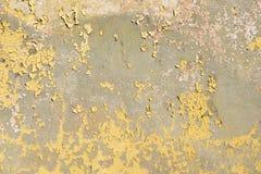 Textura oxidada con la pintura Imagen de archivo