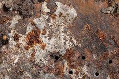 Textura oxidada de alta calidad de la superficie de metal del grunge foto de archivo libre de regalías