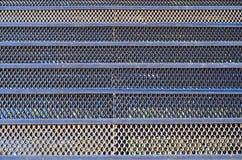 Textura oxidada de la malla metálica Imagen de archivo