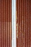 Textura oxidada de la placa de acero Foto de archivo libre de regalías
