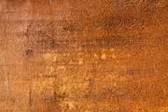 Textura oxidada del hierro Foto de archivo libre de regalías