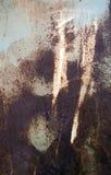 Textura oxidada del metal Fotografía de archivo libre de regalías