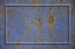 Textura oxidada del metal Fotos de archivo