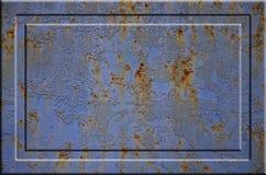 Textura oxidada del metal Fotos de archivo libres de regalías